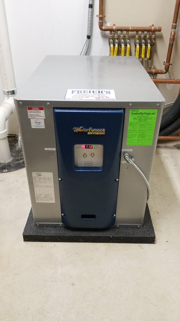 Hastings, MN - Water furnace water to water geothermal service