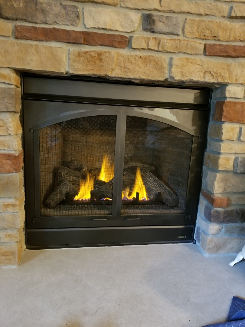 Red Wing, MN - Lennox gas fireplace