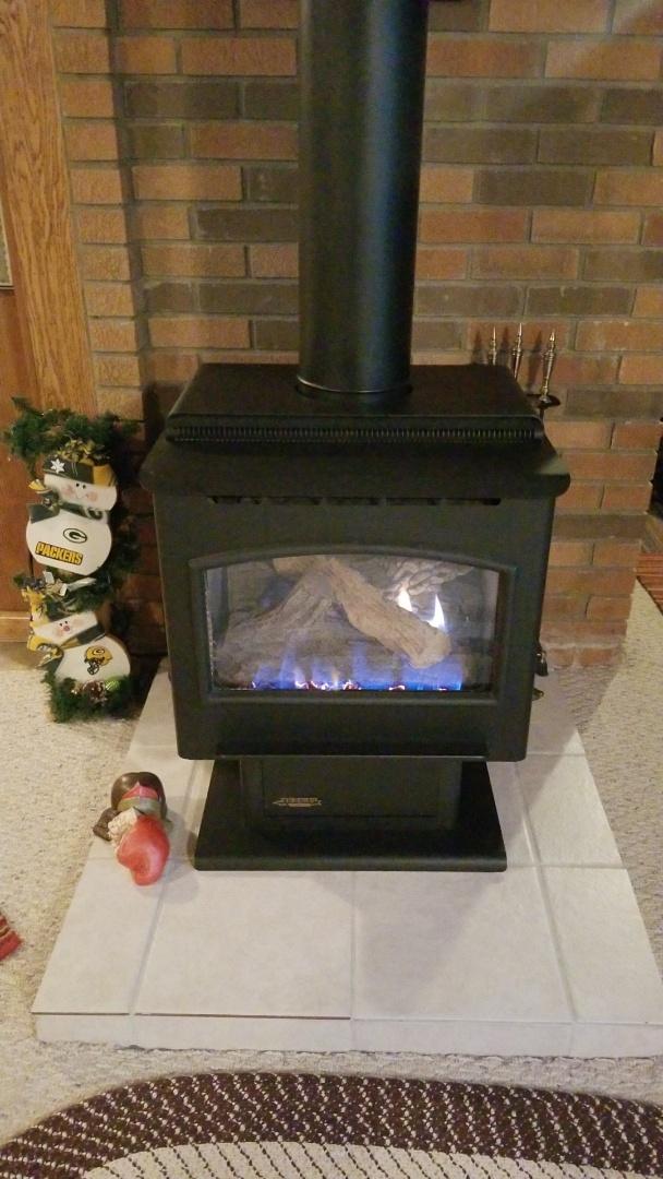 Bay City, WI - Gas fireplace service