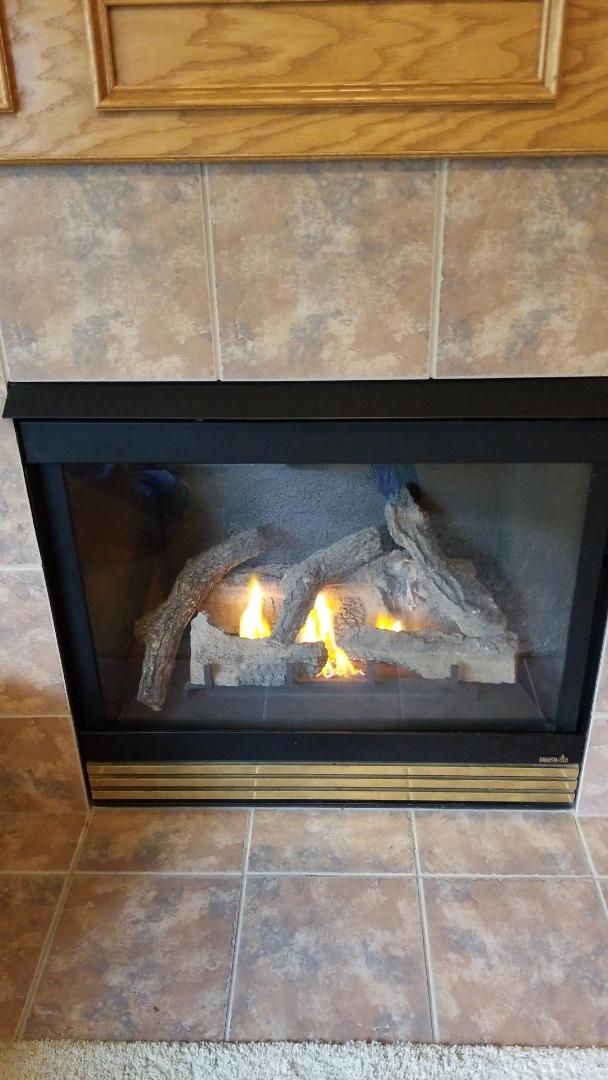 Bay City, WI - Heat N Glo gas fireplace repair