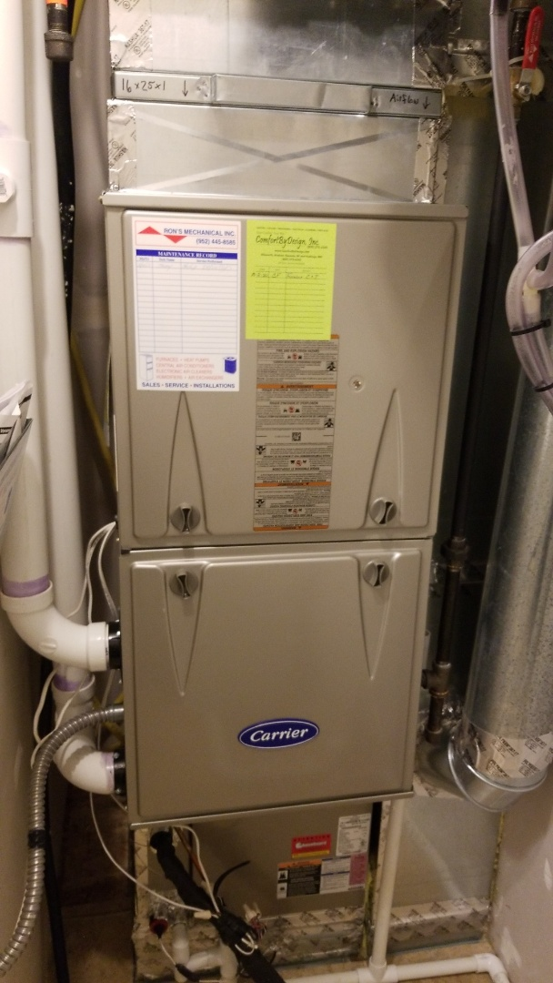 Hudson, WI - Carrier furnace service