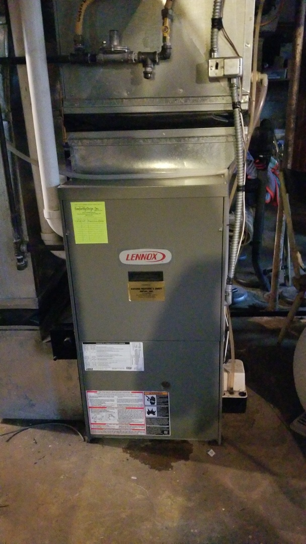 Spring Valley, WI - Lennox gas furnace service