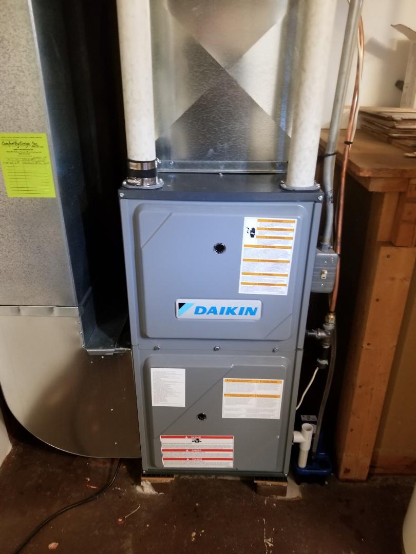 Lakeland, MN - Daikin furnace service