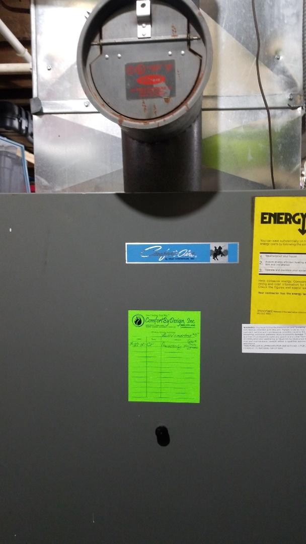 River Falls, WI - Fuel oil furnace repair