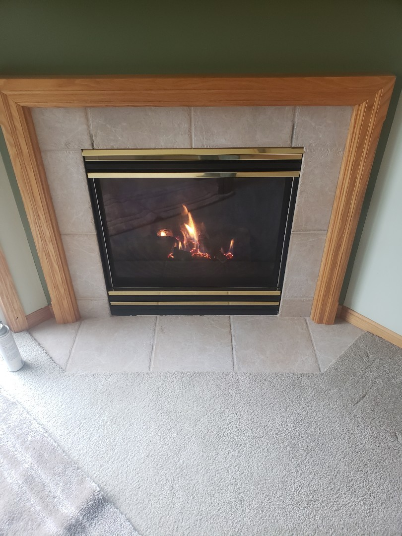 New Richmond, WI - Fire place cleaning and inspection.