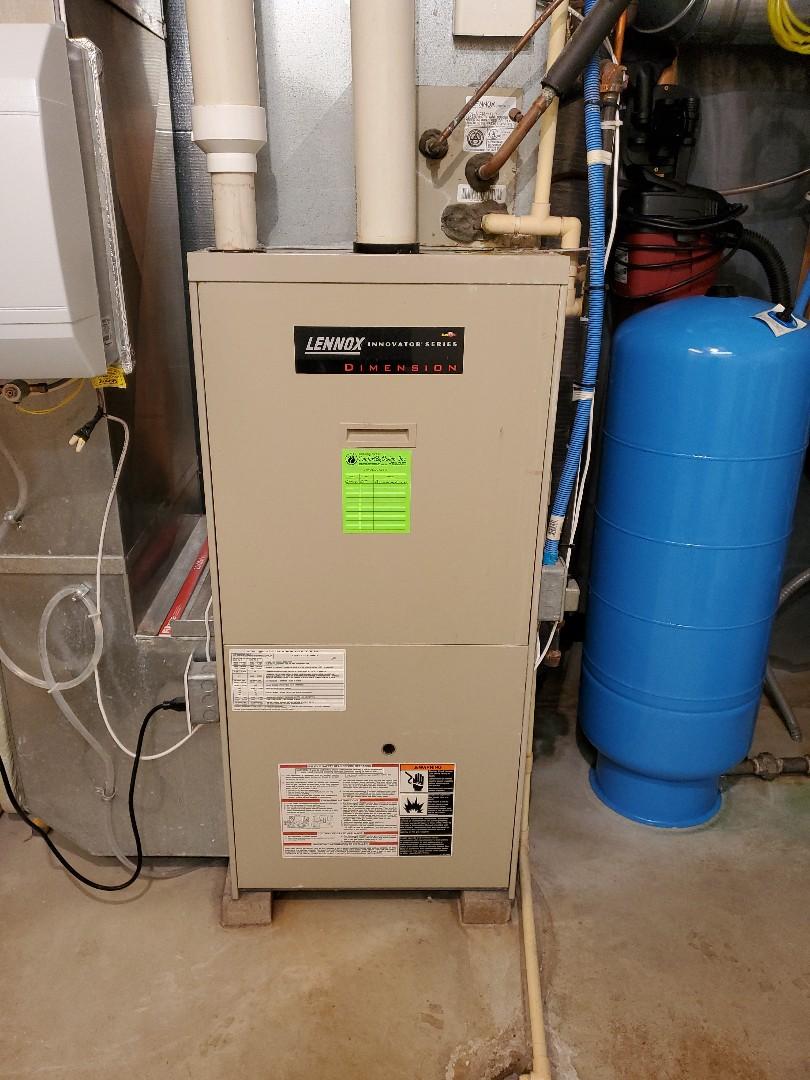 Hammond, WI - Lennox furnace repair