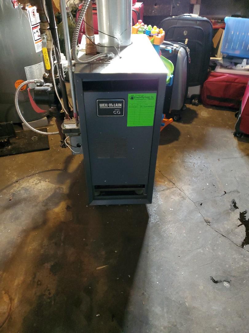 Hudson, WI - Weil McLain boiler repair