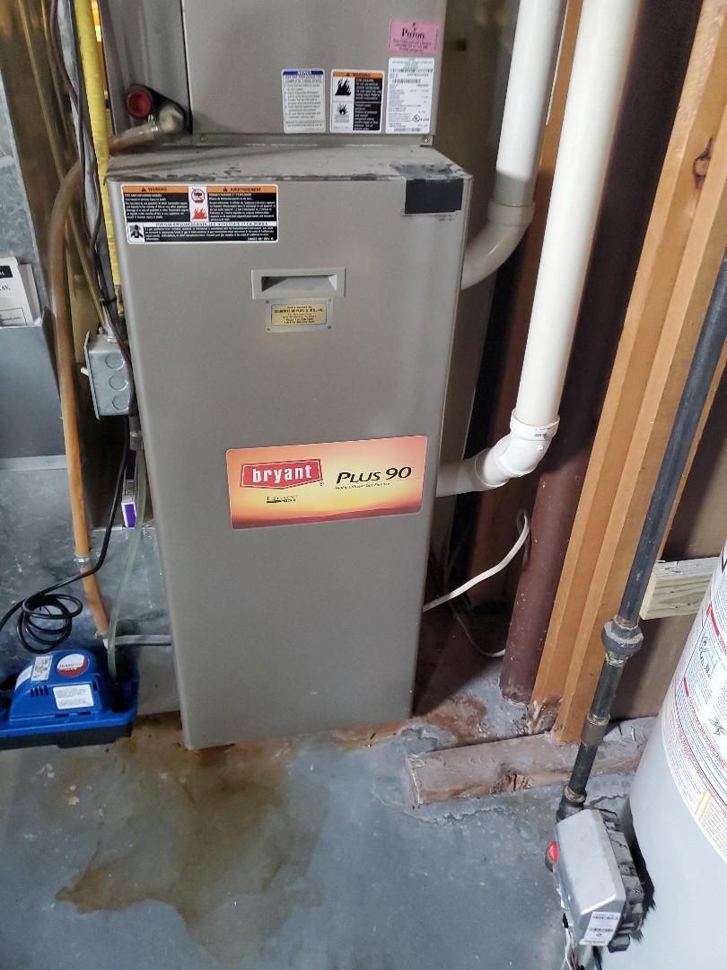 Hudson, WI - Bryant furnace repair