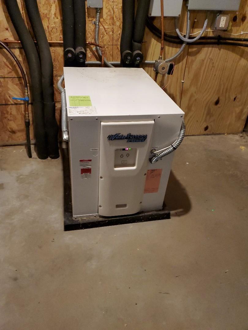 Baldwin, WI - Water Furnace Geothermal repair