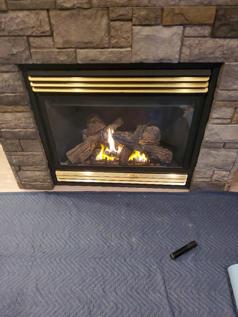 Baldwin, WI - Napoleon gas fireplace service