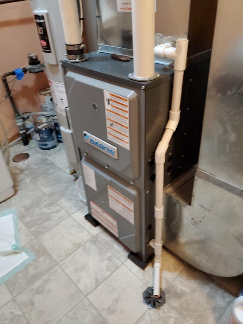 Baldwin, WI - Daikin furnace service