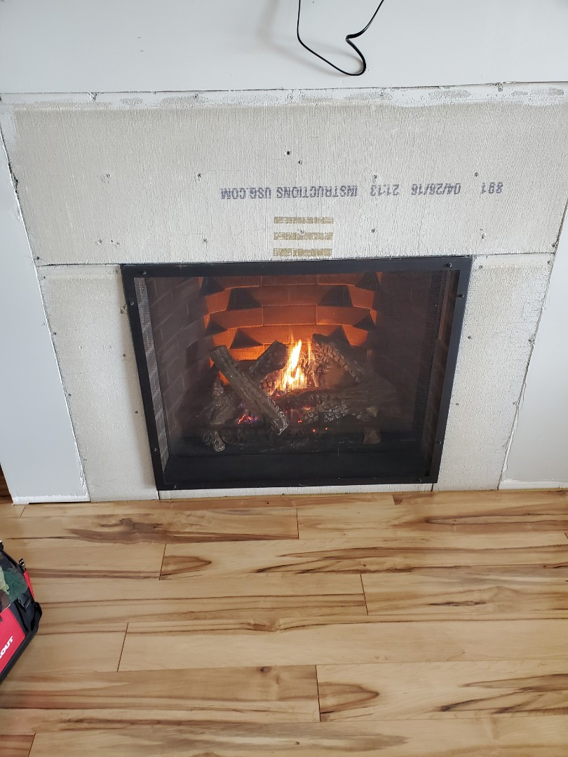 Chisago City, MN - Fire place cleaning and tune up