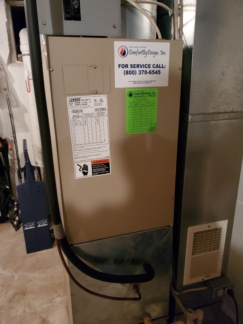 Ellsworth, WI - Air conditioner service