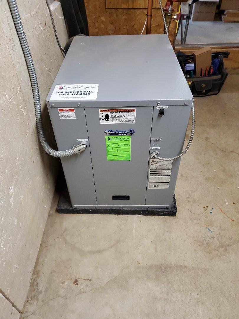 Woodville, WI - Water Furnace geothermal repair