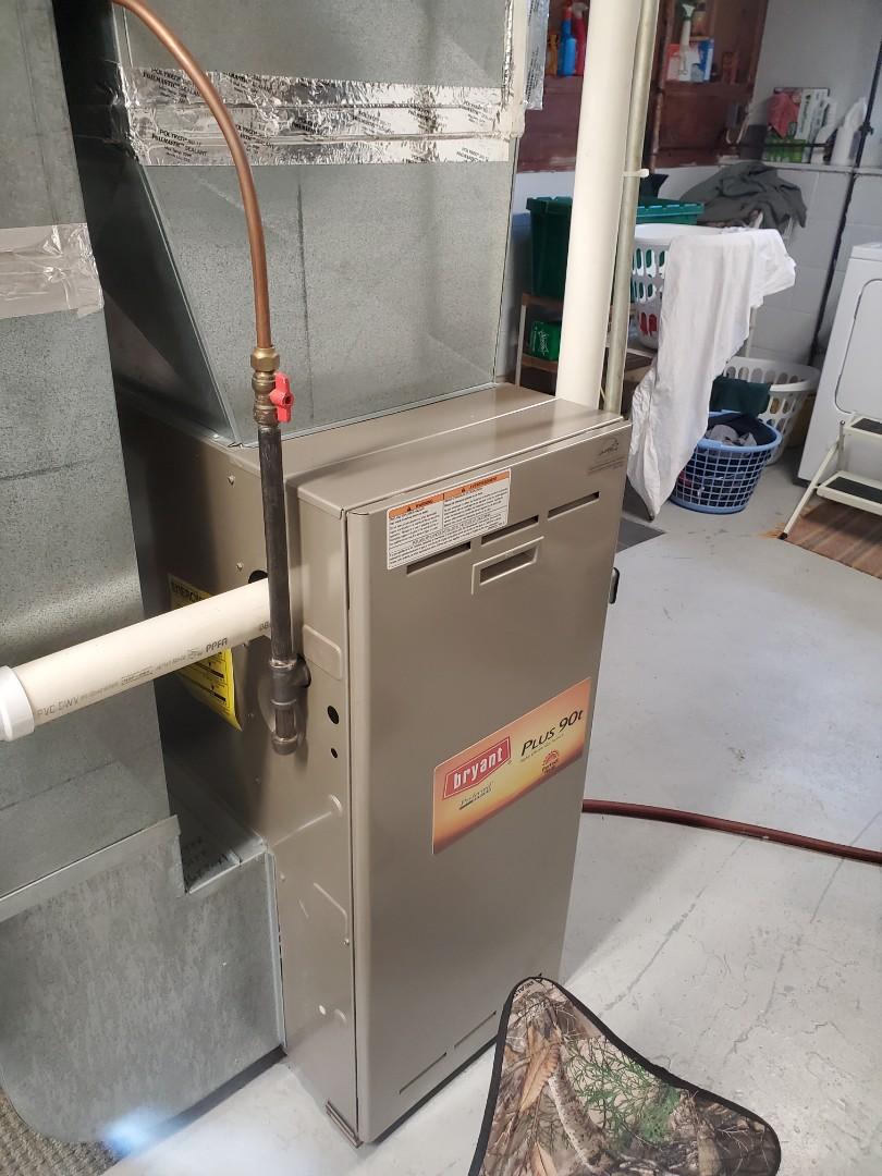 Beldenville, WI - Coleman furnace service