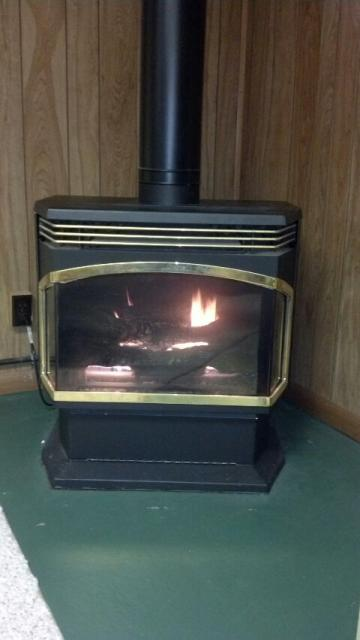 Woodville, WI - gas fireplace