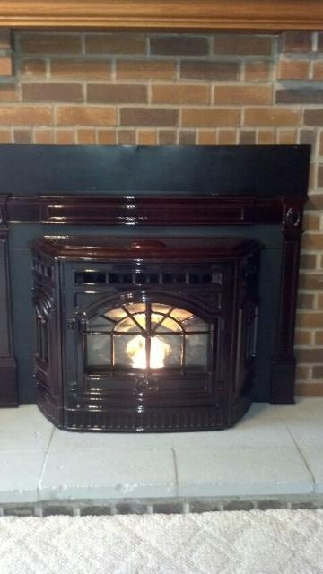 Plum City, WI - quad pellet stove