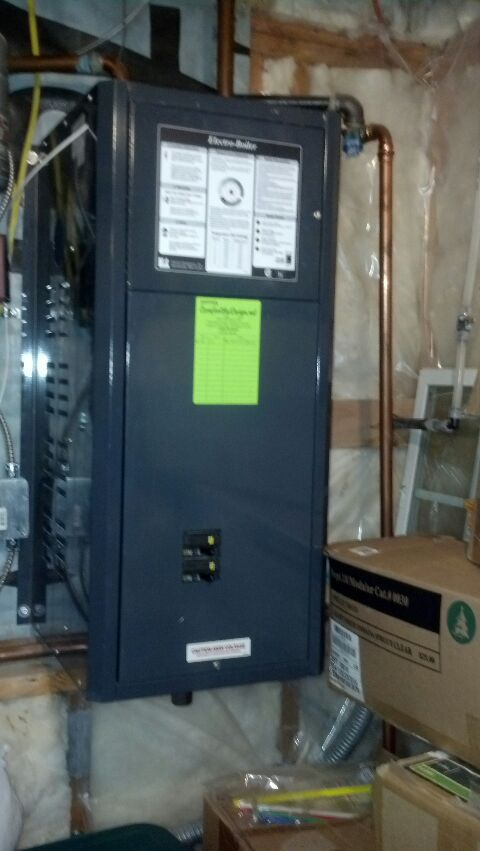 Glenwood City, WI - electric boiler