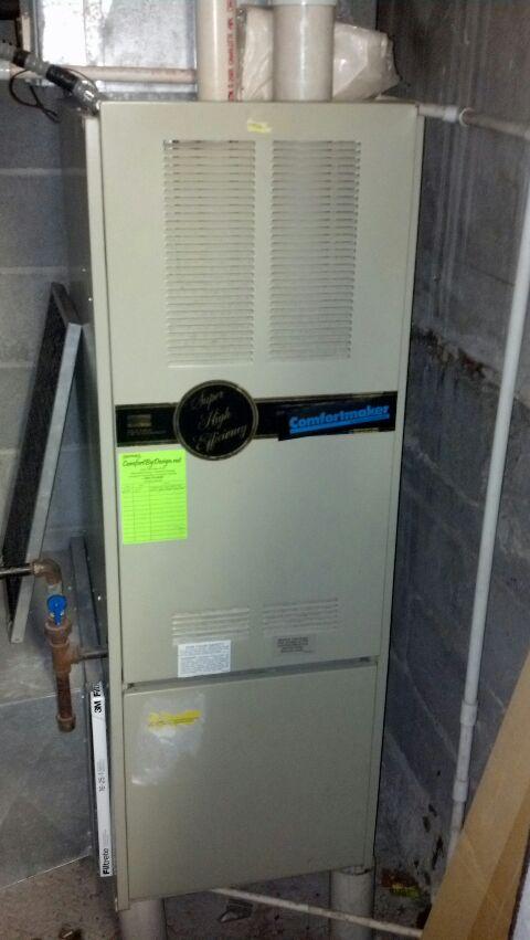 Hampton, MN - LP furnace service