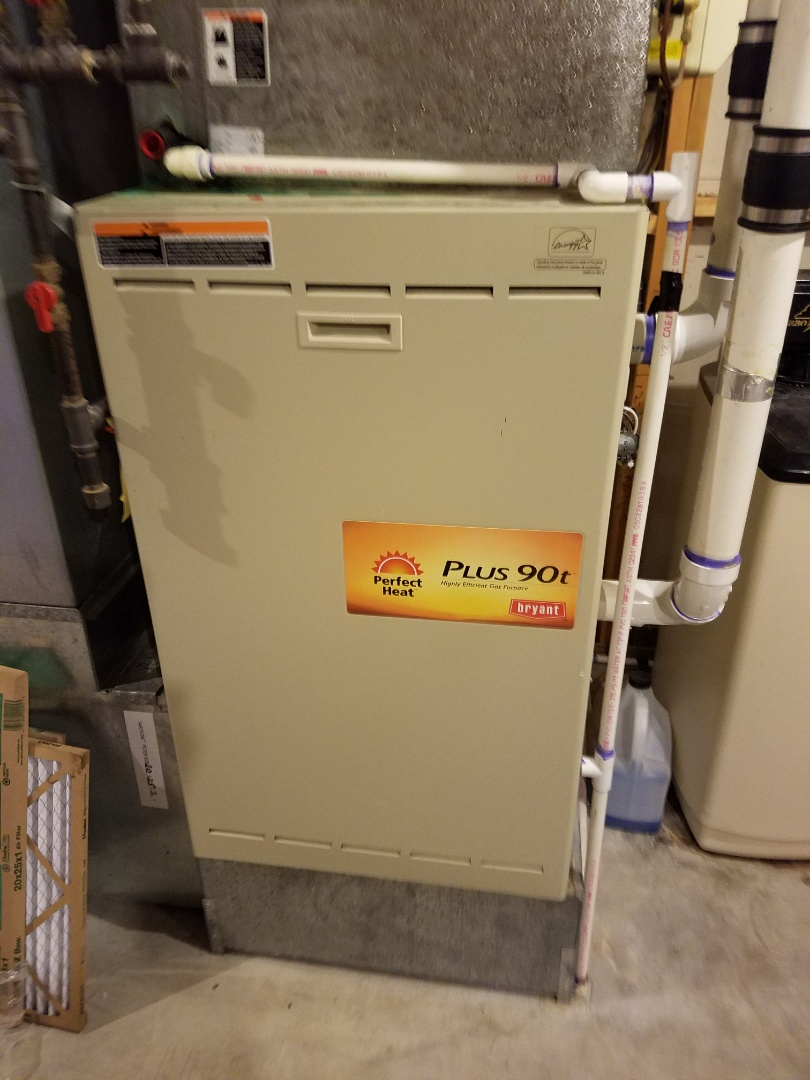 Afton, MN - Furnace service on Bryant in Afton