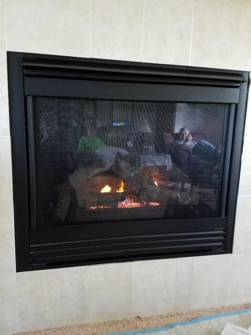Baldwin, WI - Fireplace maintenance on Heat and glo in Baldwin