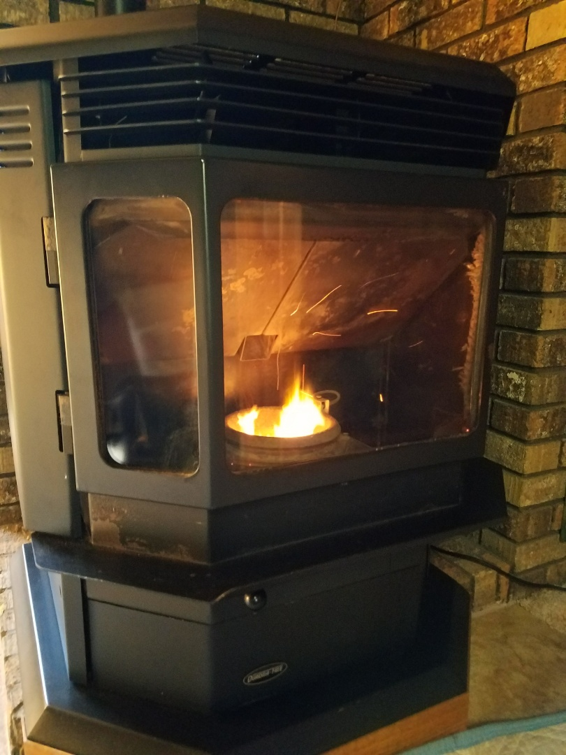 Spring Valley, WI - PELLET stove maintenance on Quadra Fire in Spring valley