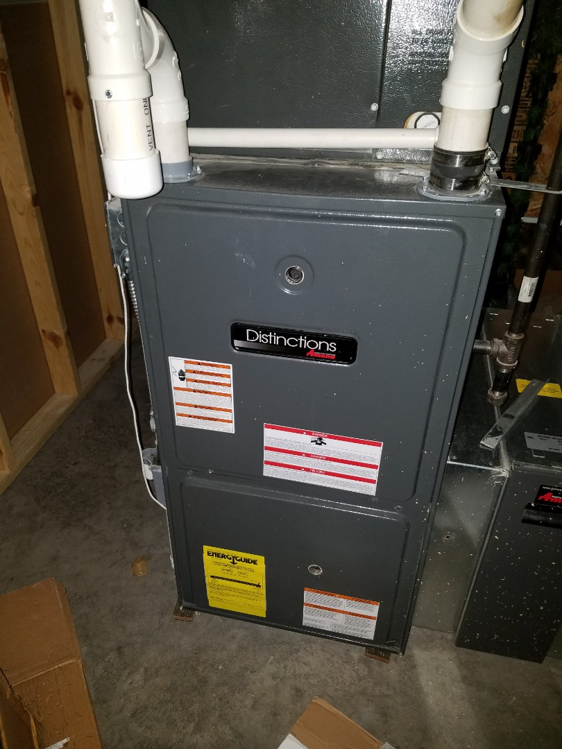 Baldwin, WI - Furnace maintenance on Goodman in Baldwin