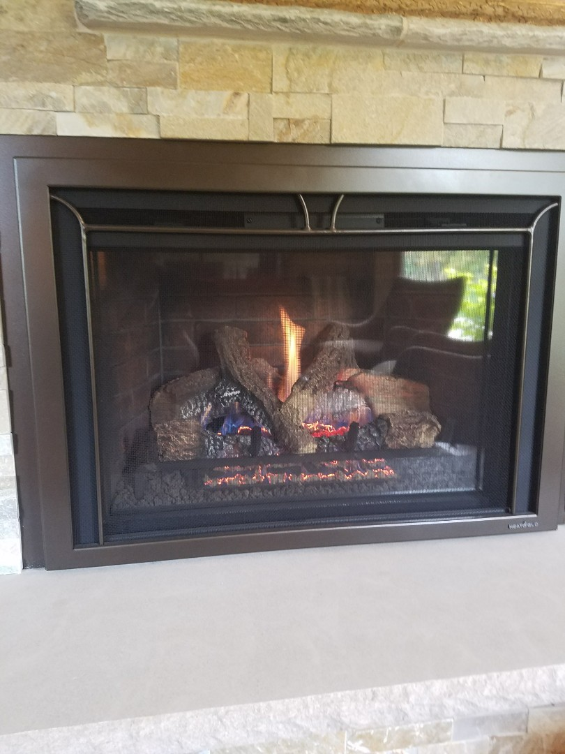 Burnsville, MN - Fireplace maintenance on Heat and glo in Burnsville