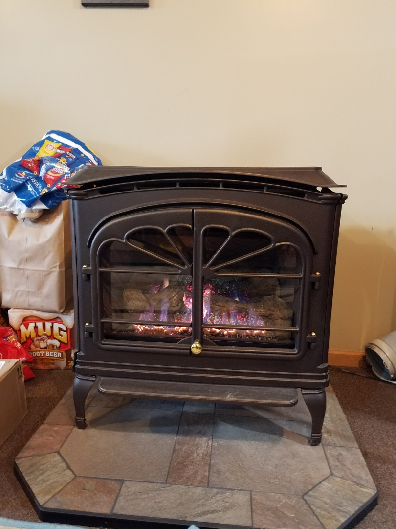 Somerset, WI - Fireplace maintenance on Heat and glo gas stove in Somerset