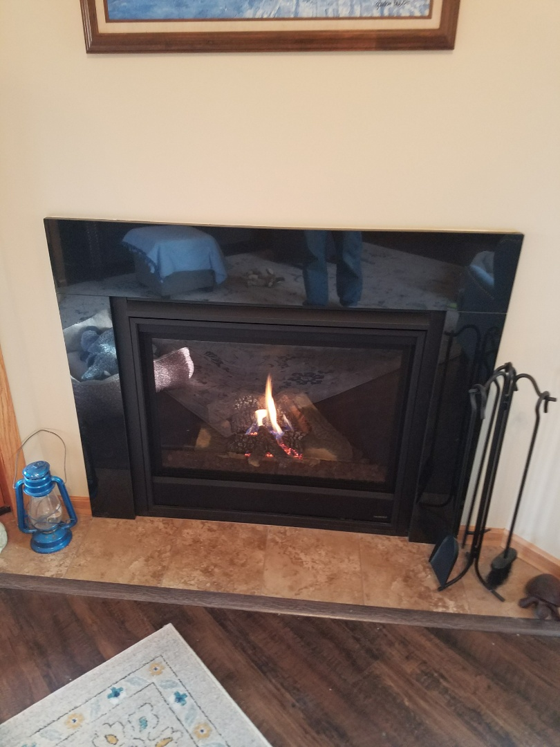 Burnsville, MN - Fireplace maintenance on Heatilator in Burnsville
