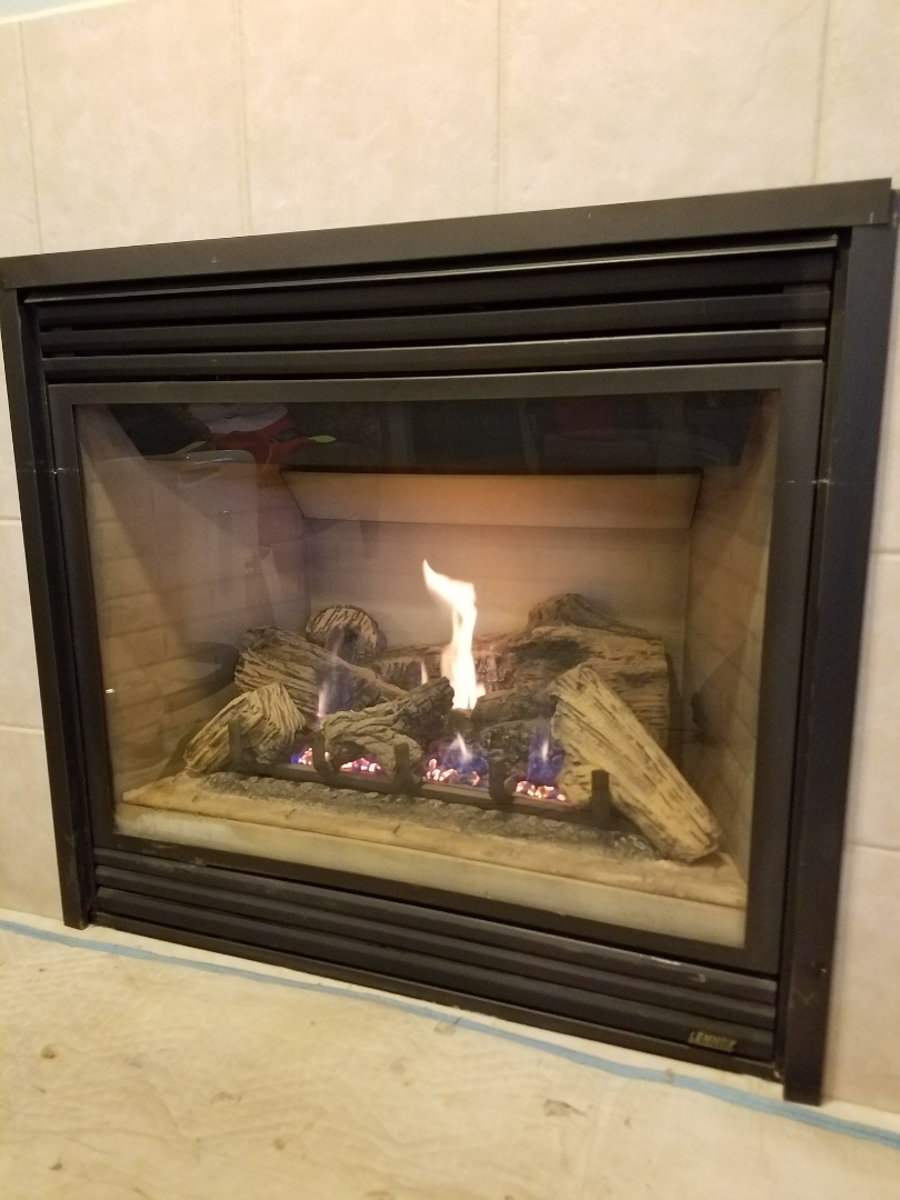 Lakeville, MN - Fireplace maintenance on Lennox in Lakeville