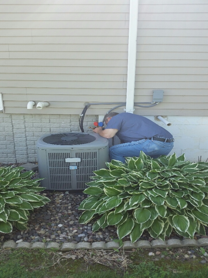 Hager City, WI - Air conditioner service