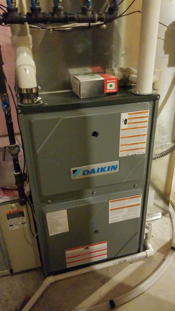 Hastings, MN - Daikin gas furnace in Hastings Mn