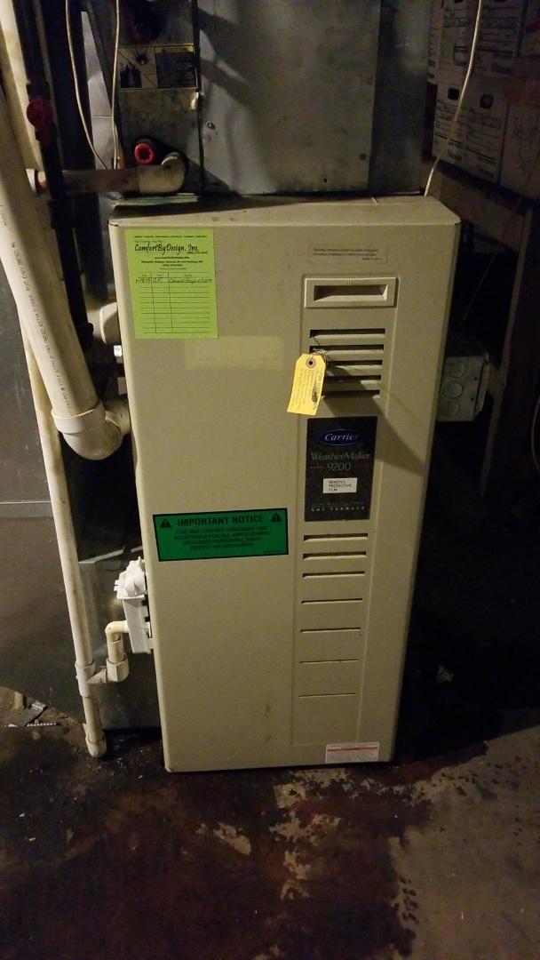 Osceola, WI - Carrier furnace repair in Osceola Wi