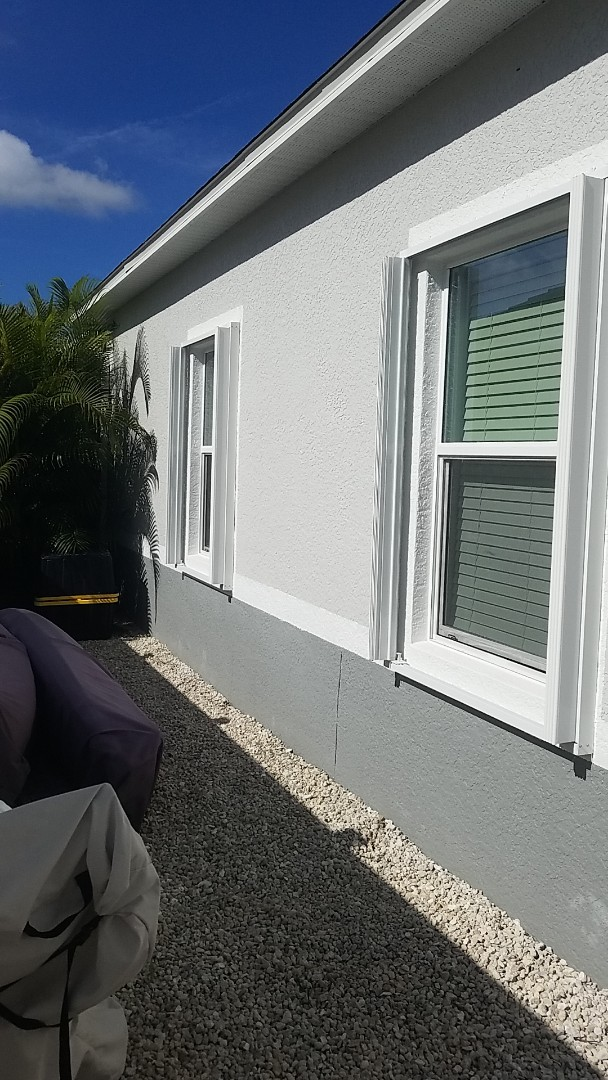 Installing accordions shutters for hurricane protection