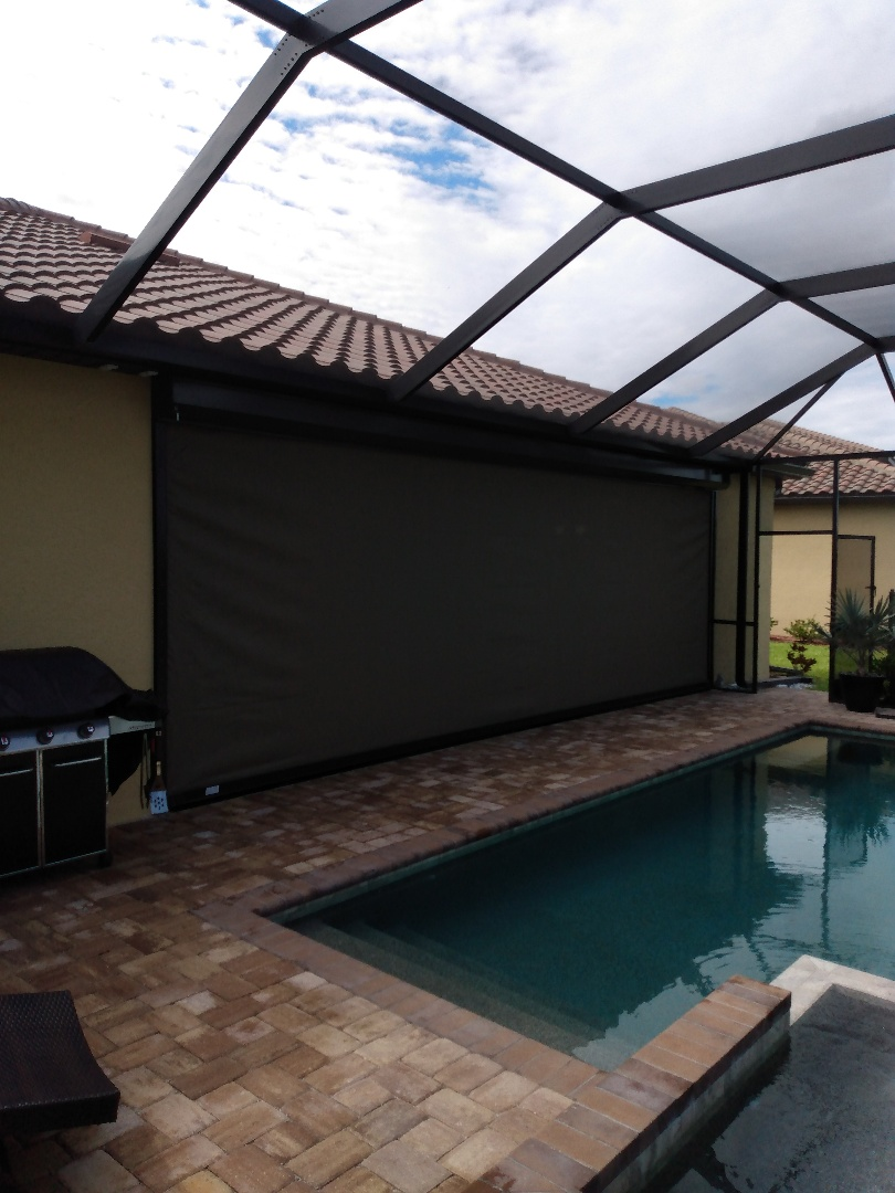 Hurricane screen protection