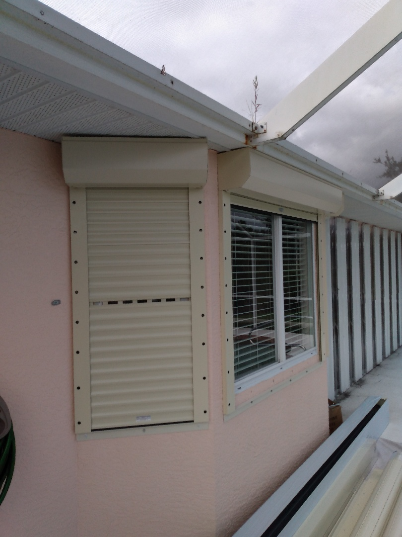 Roll down hurricane protection
