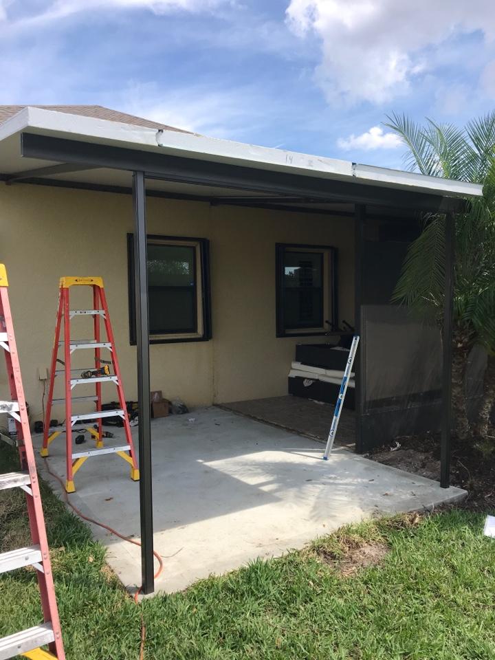 Installing new elite roof Harper's 1980 LLC