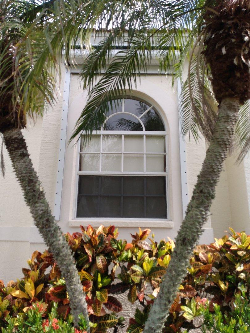 Rolldown hurricane shutters