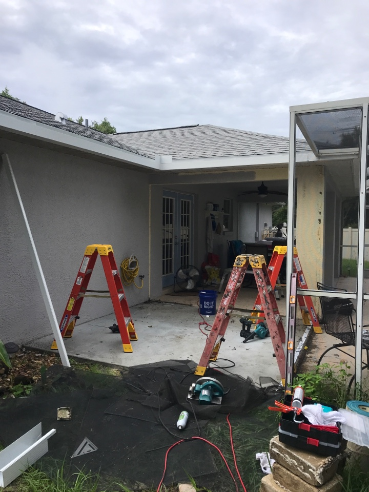 Installing flat cage extension Harpers 1980 LLC