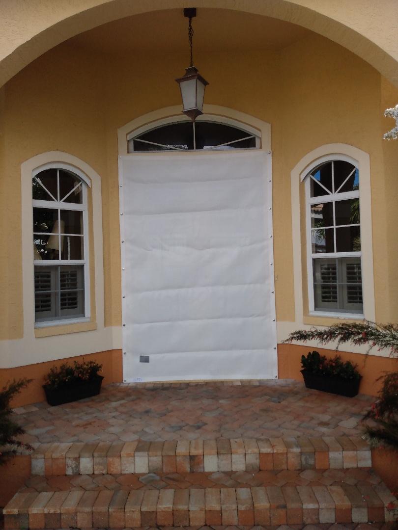 Hurricane screen panels