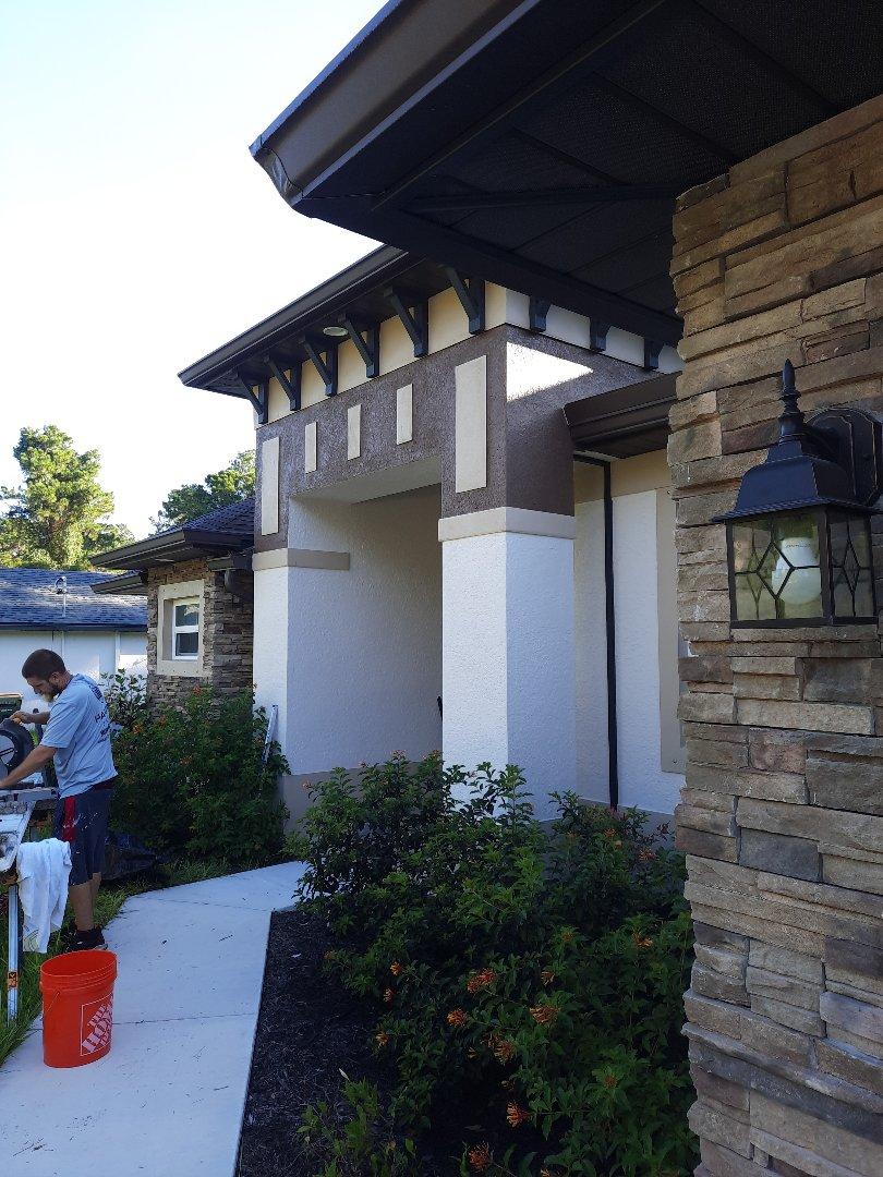 Build front enclosure