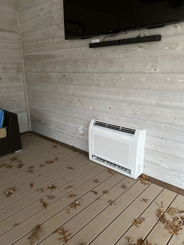 Evansville, IN - Startup on new high efficiency Fujitsu mini split heat pump.