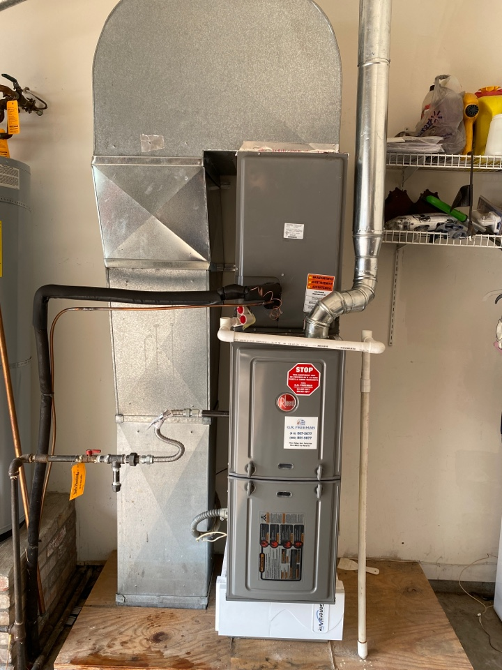 Newburgh, IN - Startup on Rheem furnace.