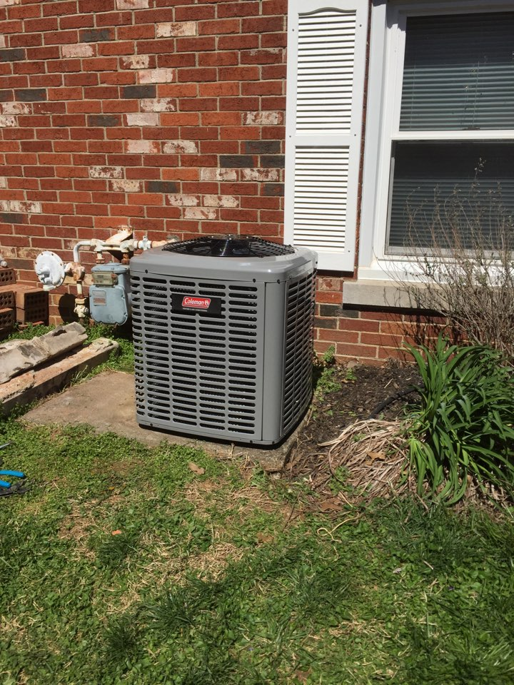 Mount Vernon, IN - Replacing old carrier AC with a new Coleman AC