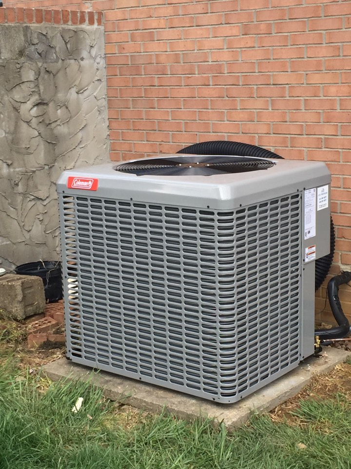Chandler, IN - Install Coleman air conditioner