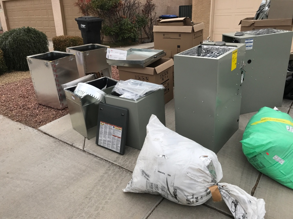 Henderson, NV - Double 20 Seer installation today!!