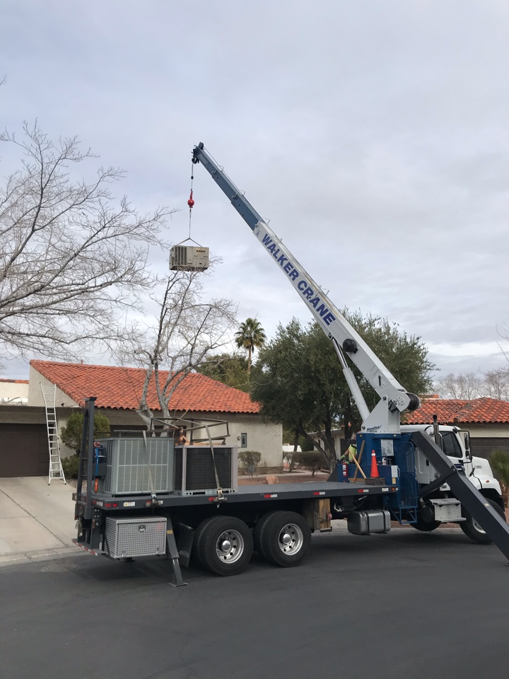 Las Vegas, NV - Package unit installation today!!