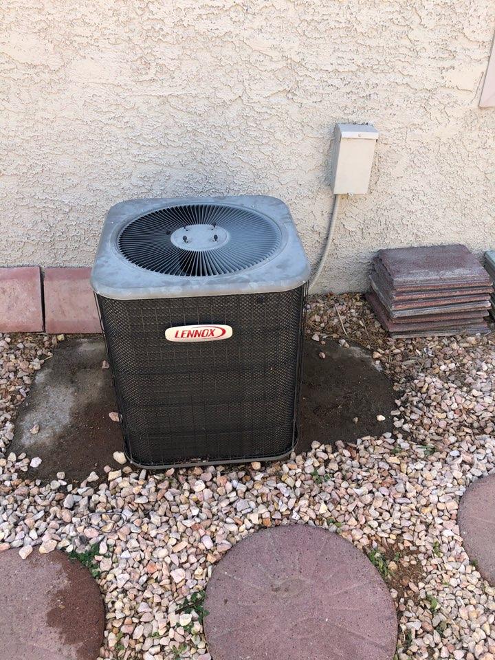 Henderson, NV - Residential condenser preventative maintenance