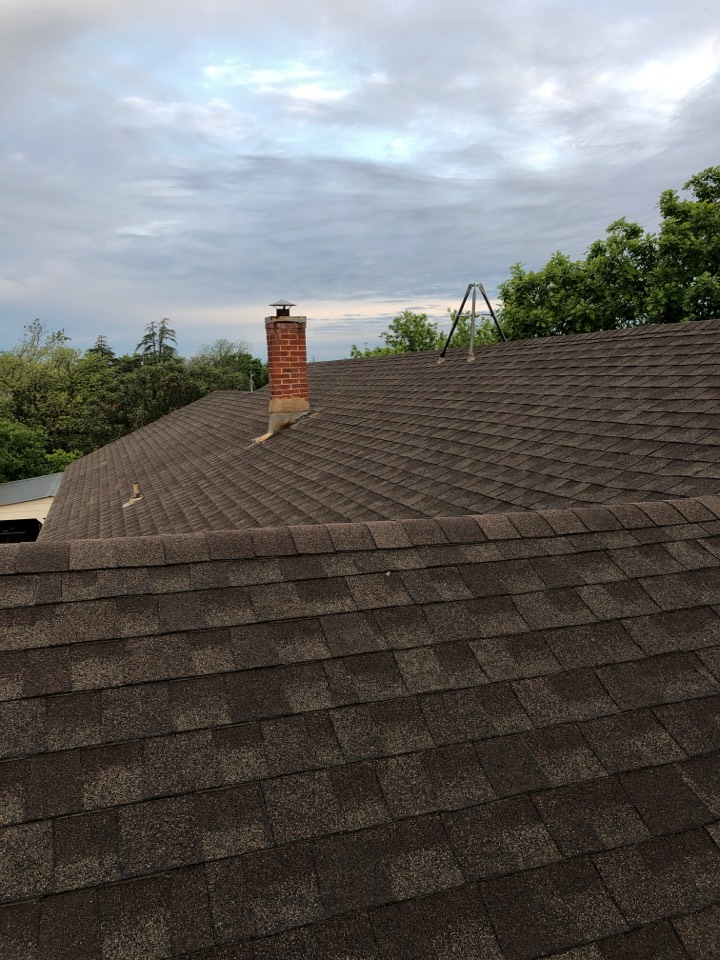 Llano, TX - Roof inspection with an insurance adjuster this morning. Trying to get roof bought by insurance for replacement.